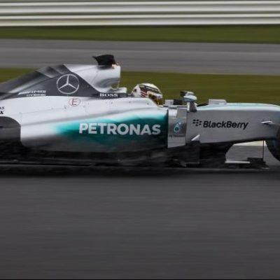 Formel 1: Rosberg fährt Mercedes-Rollout