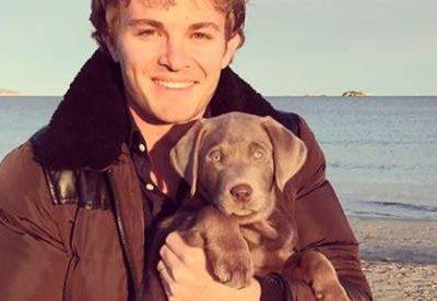 Rosberg: Auf den Hund gekommen