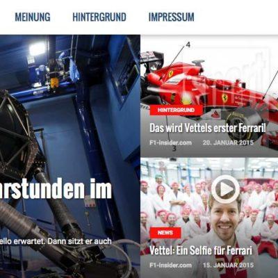 F1-insider.com geht online!