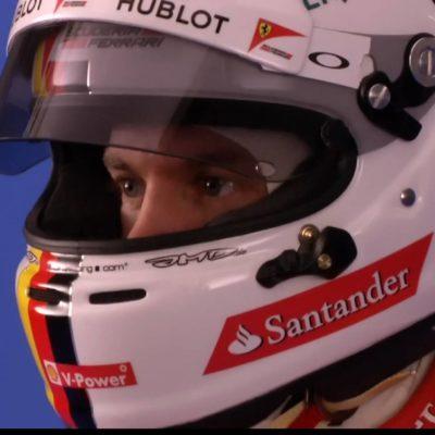 Formel 1: Vettels erster Ferrari-Helm