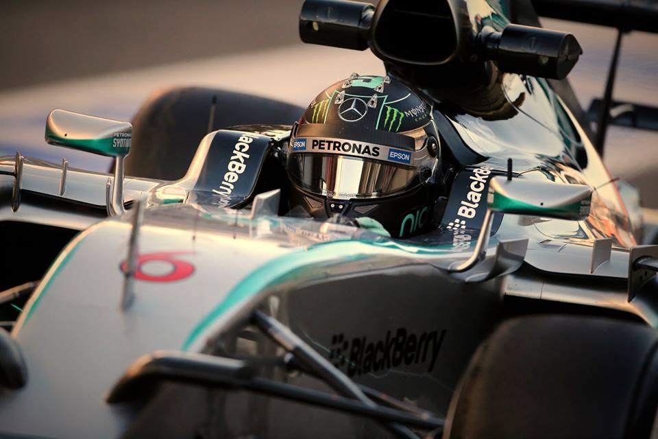 Rosberg im Mercedes