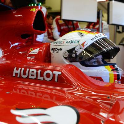 Vettels Ferrari-Helm keine Schumacher-Kopie!