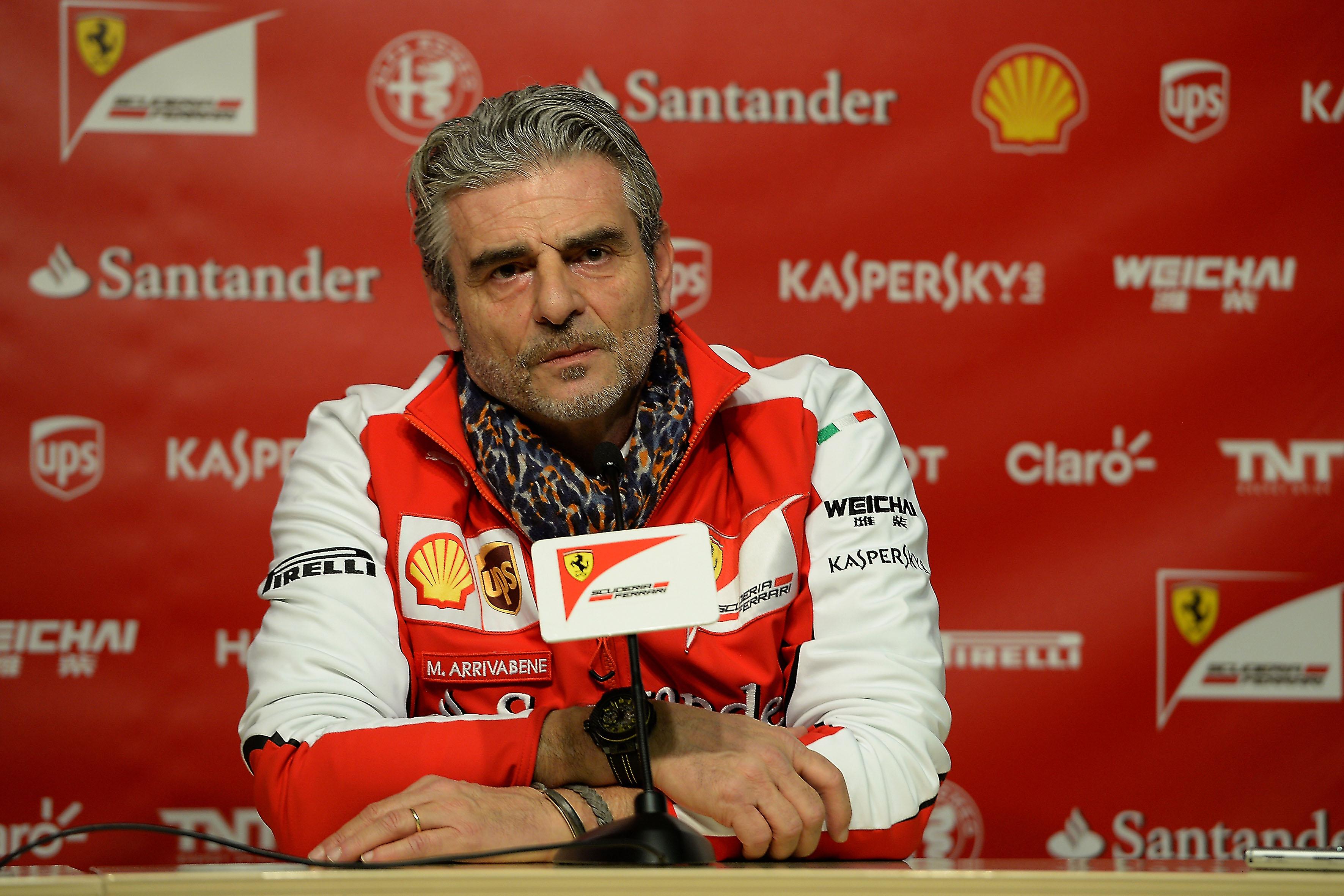 Ferrari-Teamchef Arrivabene in Barcelona
