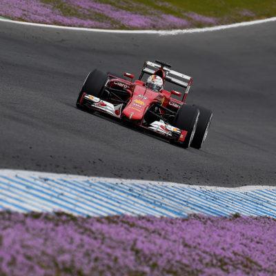 Ferrari: Die besten Vettel-Bilder vom Formel-1-Test in Jerez