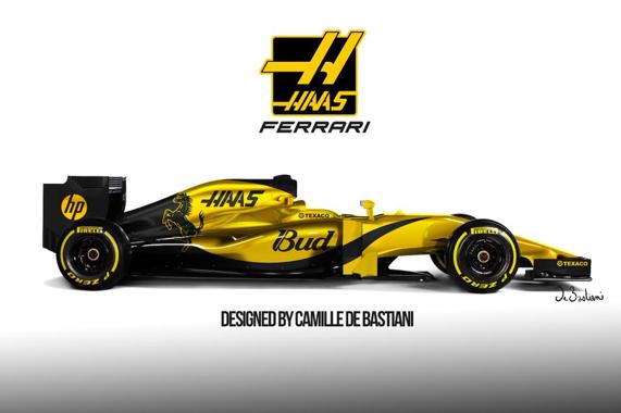 Haas Design Konzept 2. Copyright: Twitter