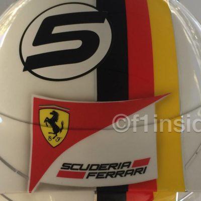 Formel 1: Vettels Helm trägt Schumis Rot