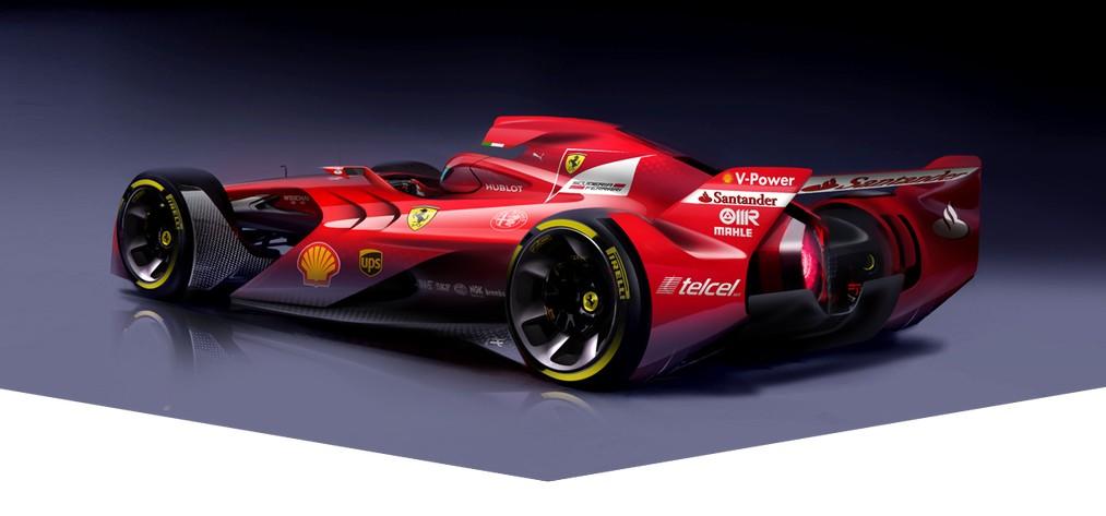 Ferraris Konzept-Studie. Copyright: Ferrari