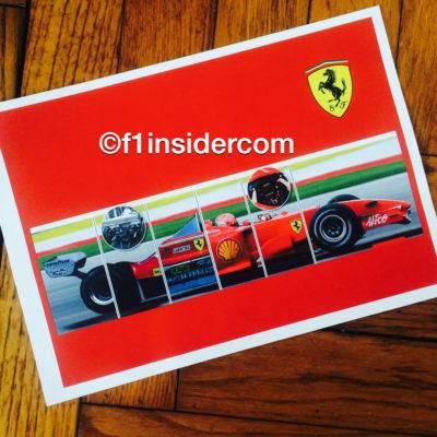 Ferrari-Kollage. Copyright: F1-insider.com