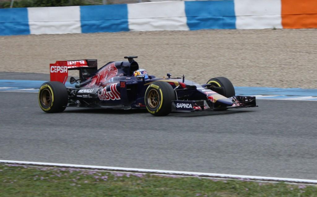 Toro Rosso in Jerez. Copyright: F1-insider.com