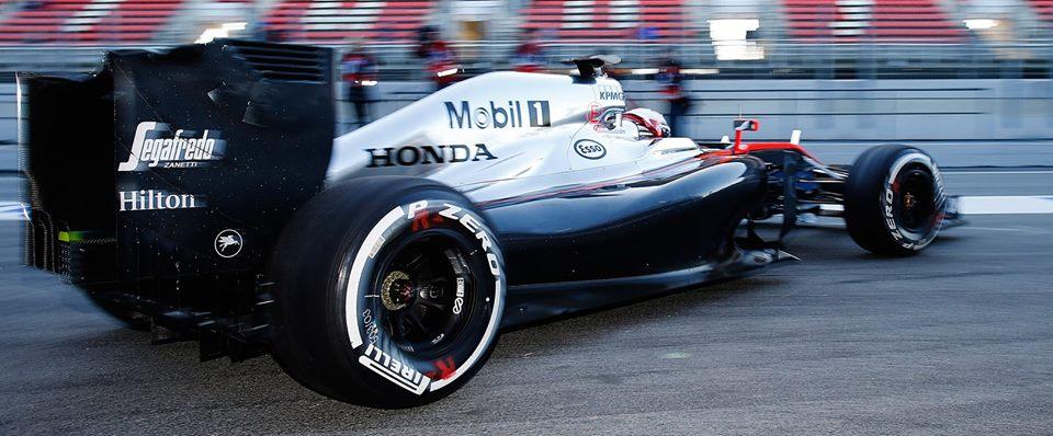 McLaren-Honda. Copyright: McLaren