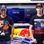 Die Red Bull-Stars Ricciardo und Kvyat. Copyright: Red Bull Facebook