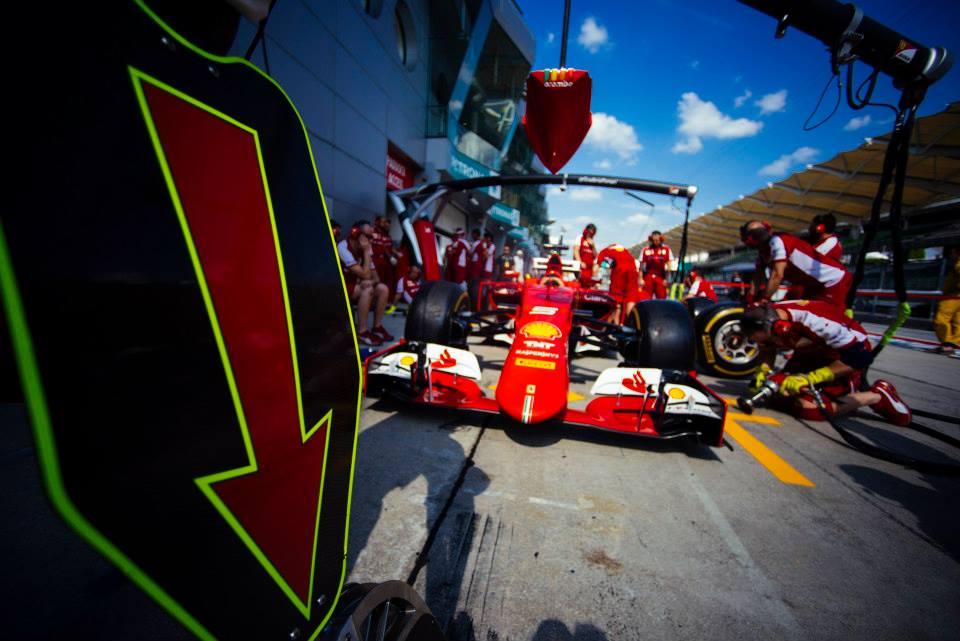 Ferrari in Malaysia. Copyright: Ferrari