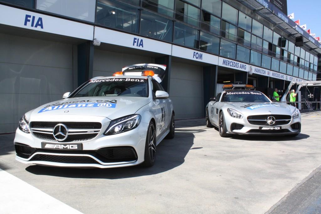 Safety- und Medical-Car. Copyright: F1-insider.com