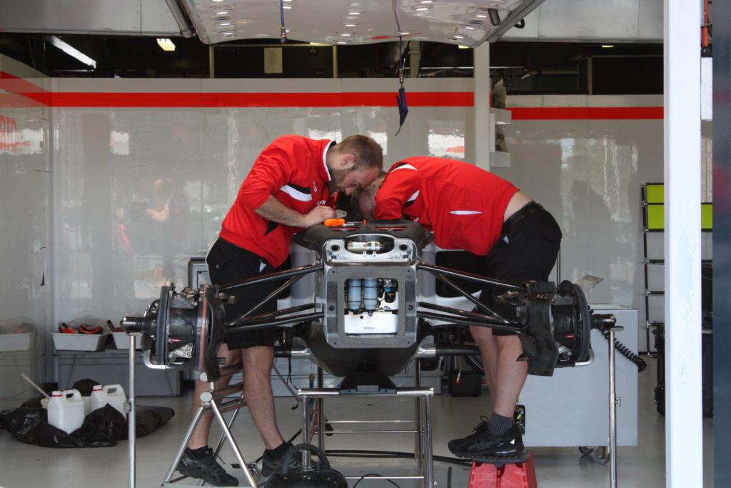 Marussia-Manor in Melbourne. Copyright: F1-insider.com
