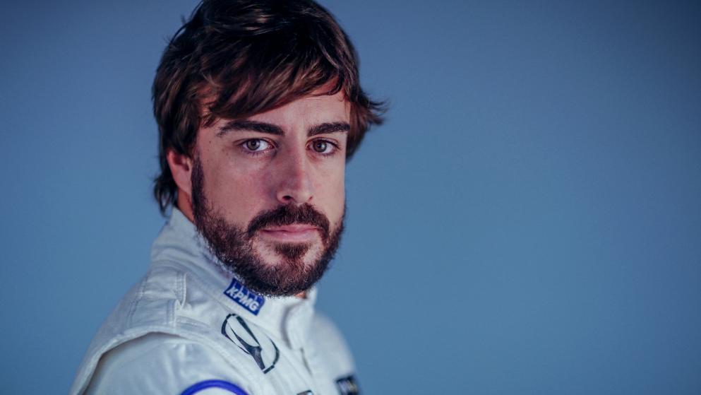 McLaren-Pilot Fernando Alonso. Copyright: Werk