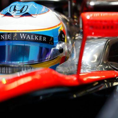 Alonso im McLaren-Cockpit. Copyright: McLaren