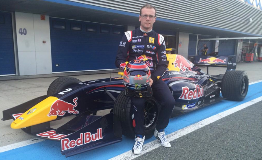 Dean Stoneman beim Red Bull-Shooting. Copyright: Twitter