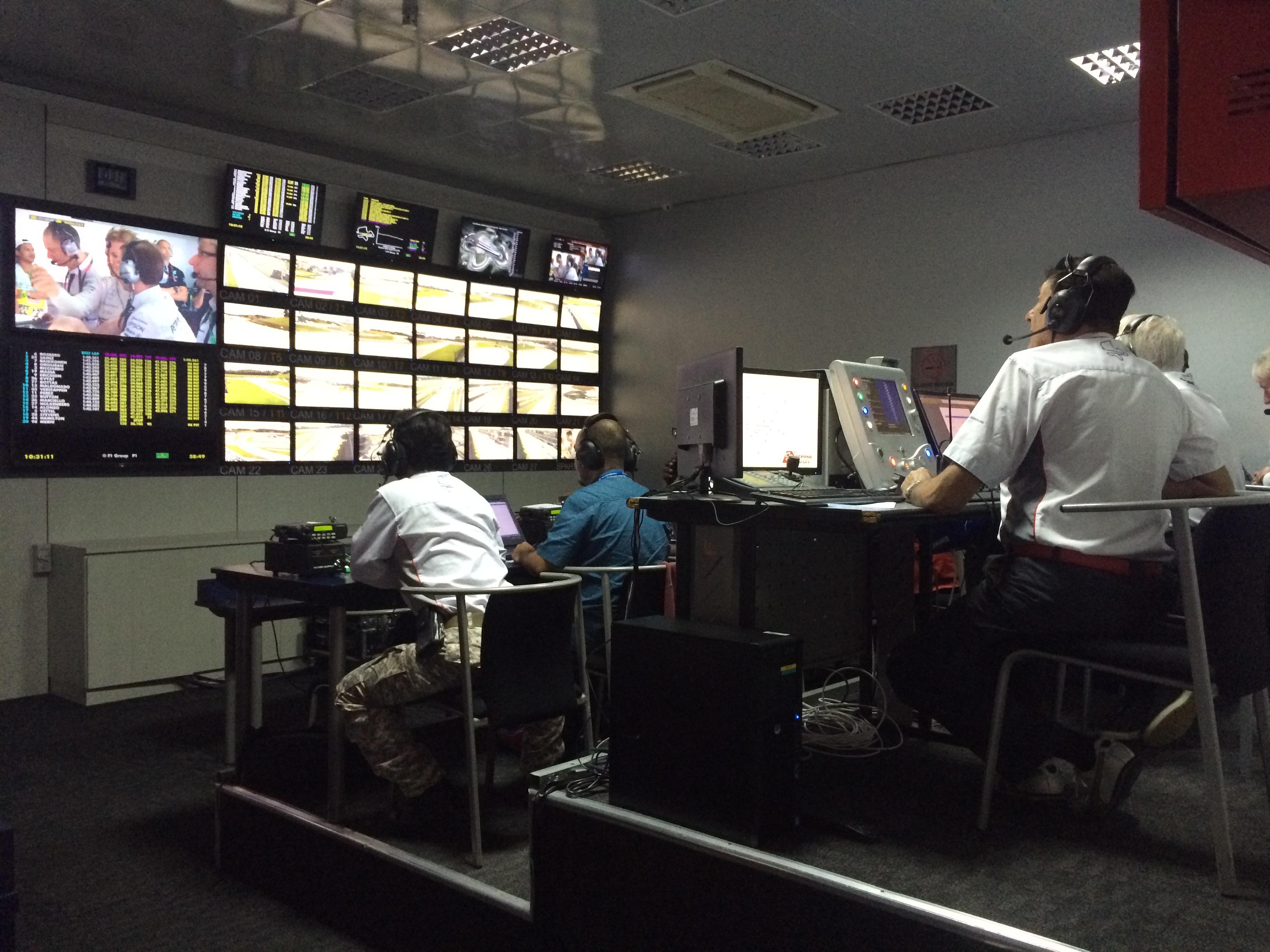 Race Control in Malaysia. Copyright: F1-insider.com