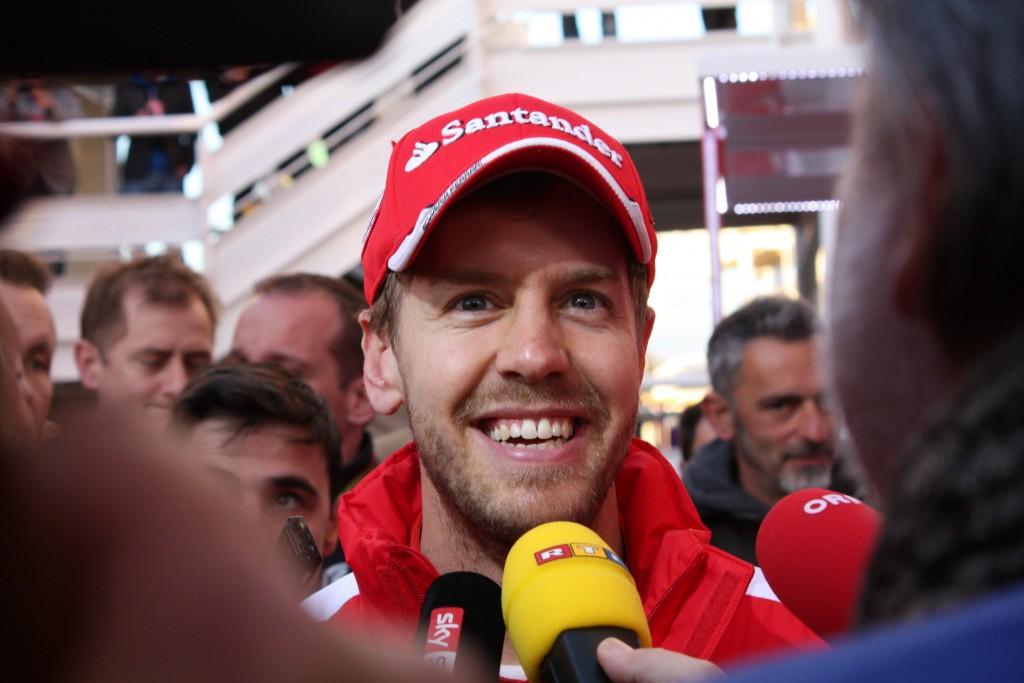 Vettel Test Barcelona. Copyright: F1-insider.com