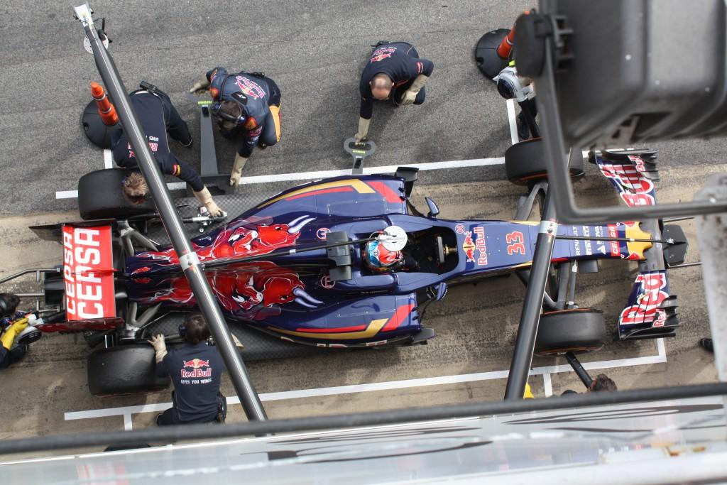 Toro Rosso Test Barcelona. Copyright: F1-insider.com