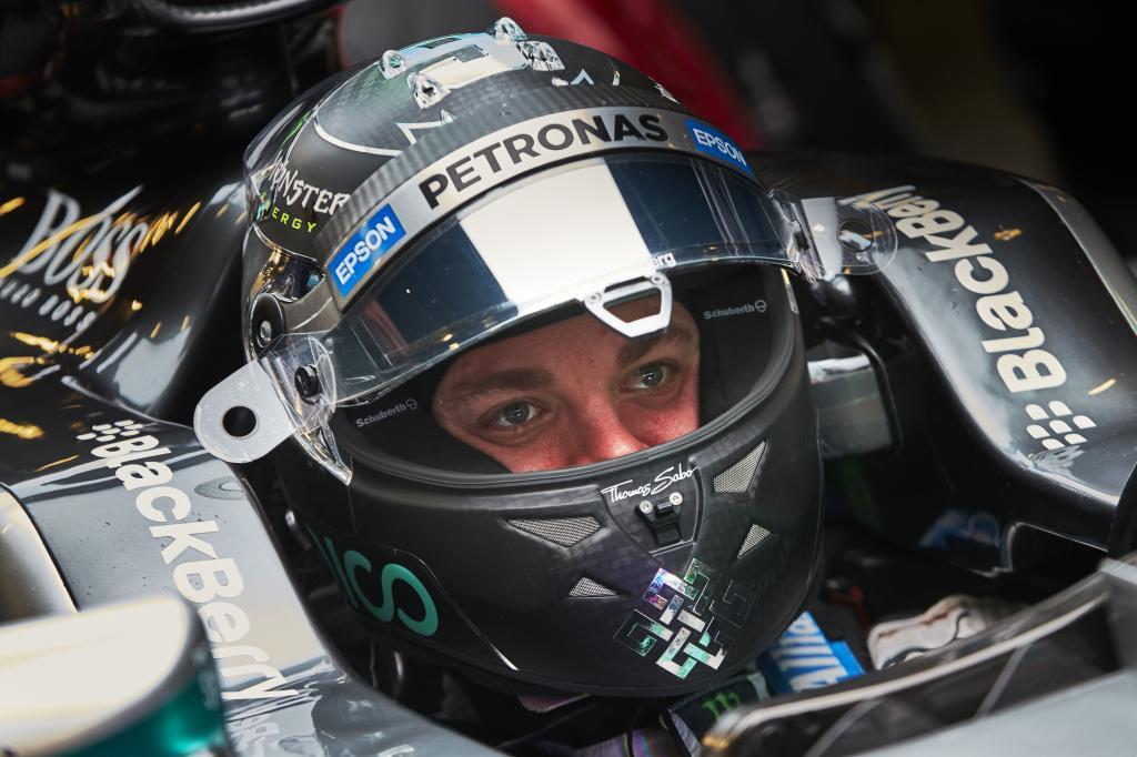 Nico Rosberg im Mercedes. Copyright: Mercedes