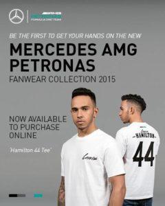Hamiltons neue Mercedes-Collection
