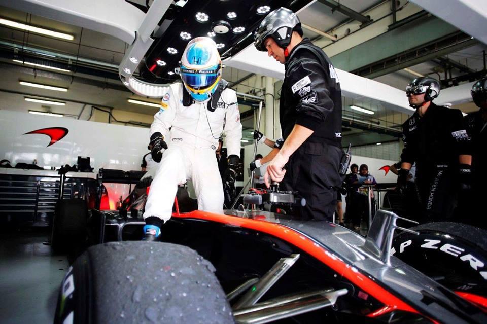 Alonso im McLaren. Quelle: McLaren