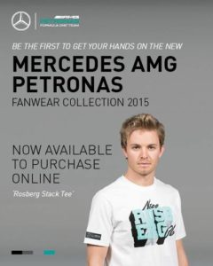 Rosbergs neue Mercedes-Collection