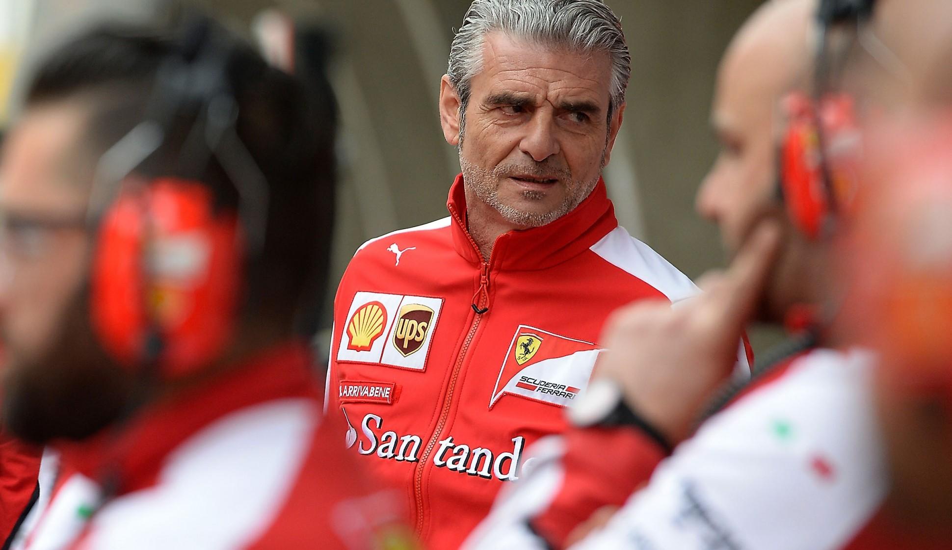 Ferrari-Teamchef Maurizio Arrivabene. Copyright: Ferrari