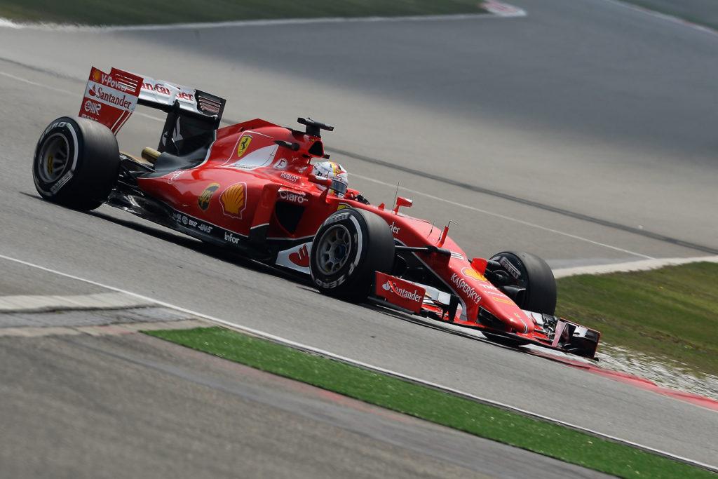 Vettel in China. Copyright: Ferrari