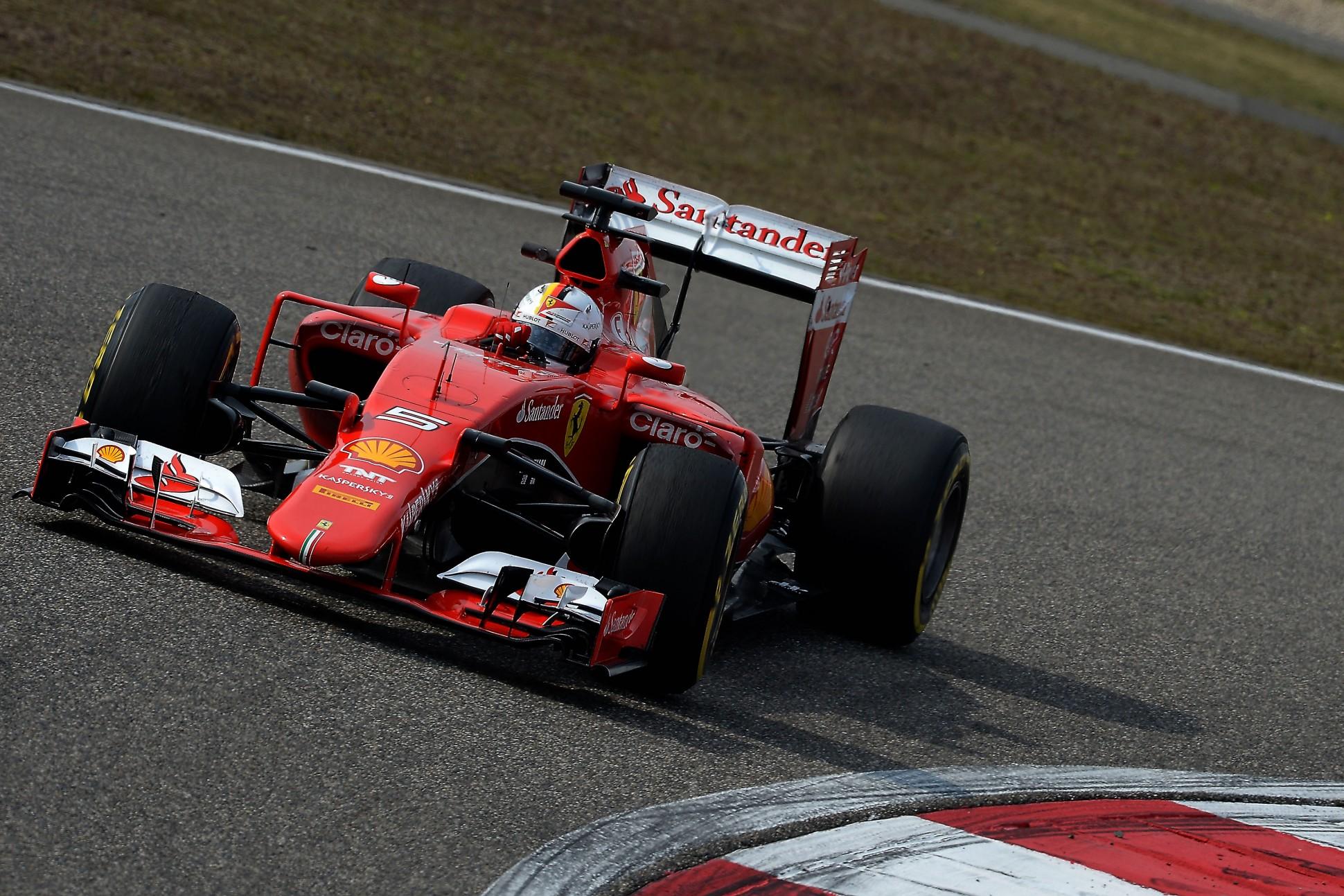 Vettel Dritter beim GP China. Copyright: Ferrari