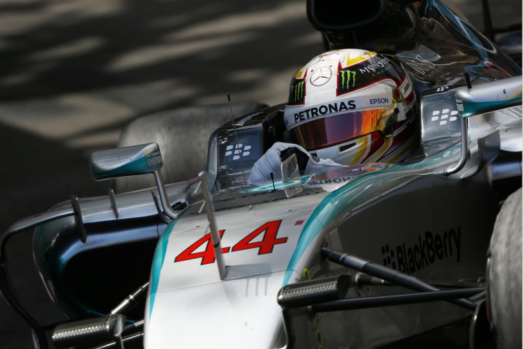 Hamilton in Monaco. Copyright: Mercedes