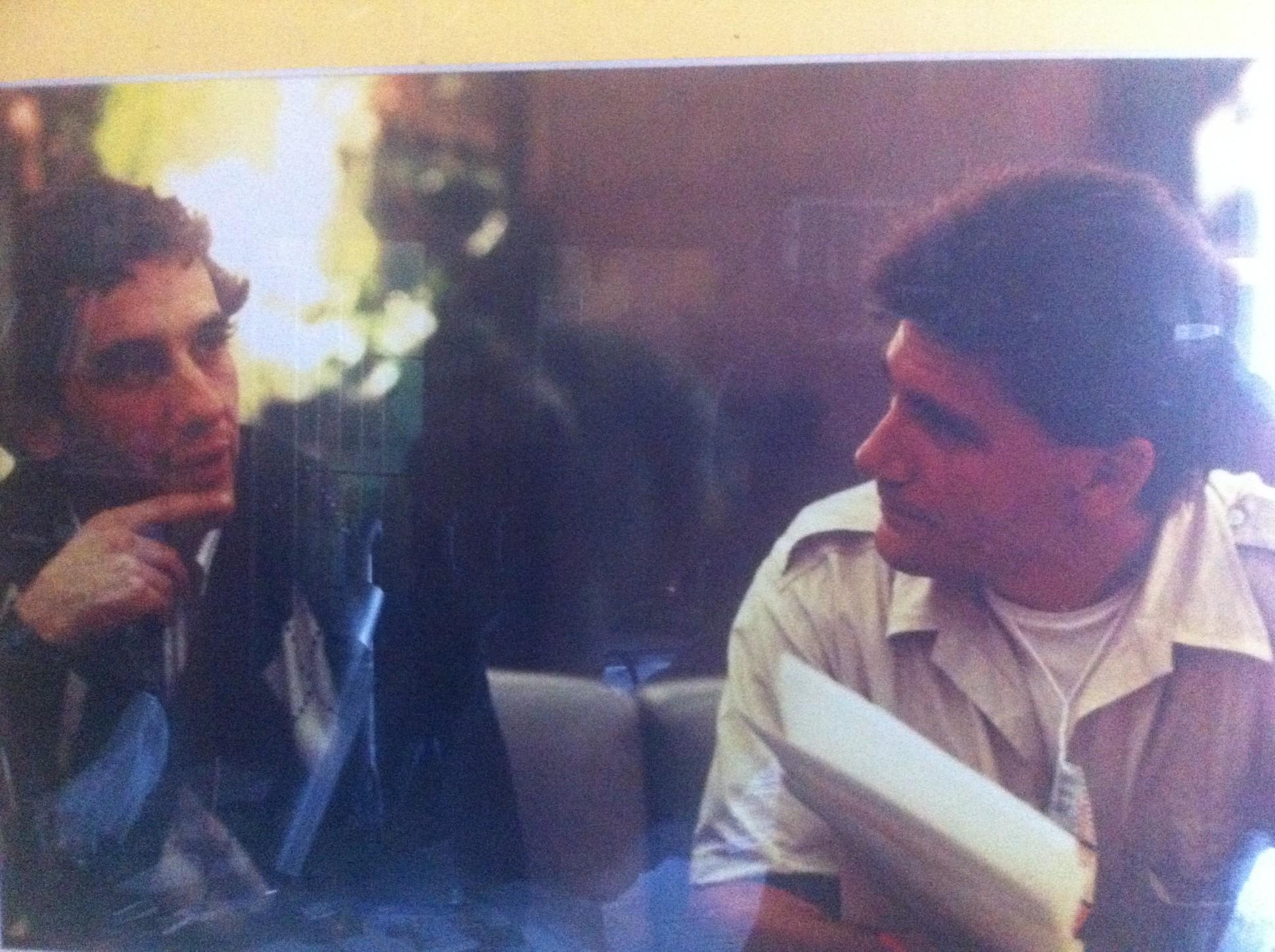 Ayrton Senna im Gespräch mit Ralf Bach alias F1-insider.com