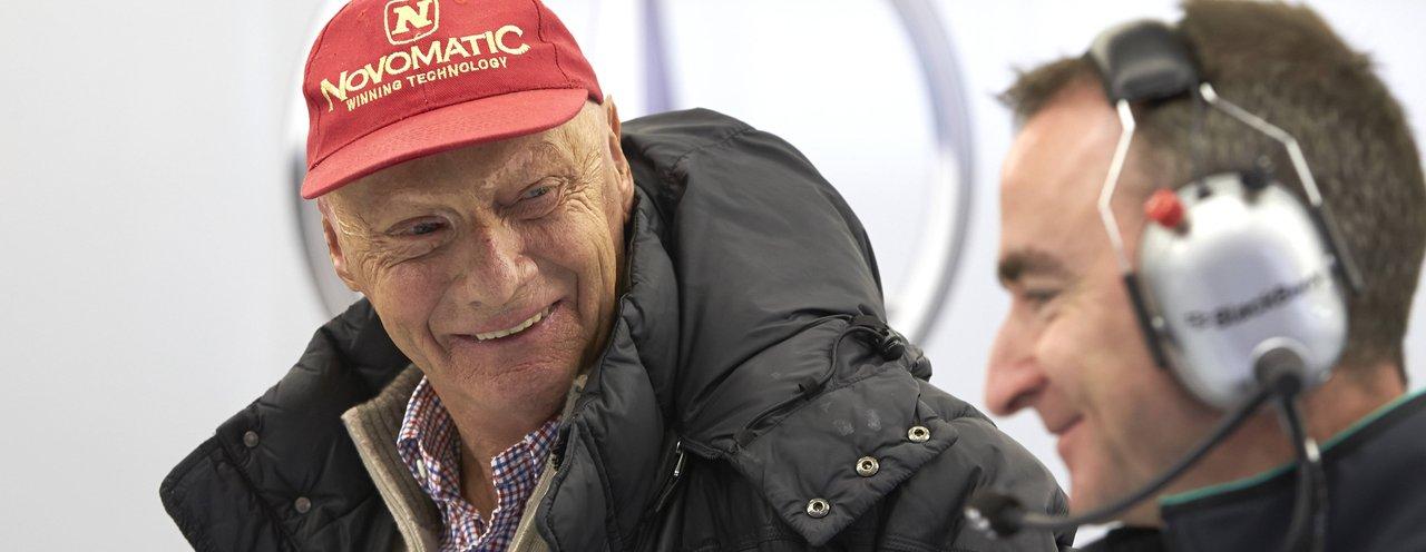 Niki Lauda findet Paddy Lowe gar nicht mehr lustig. Copyright: Mercedes