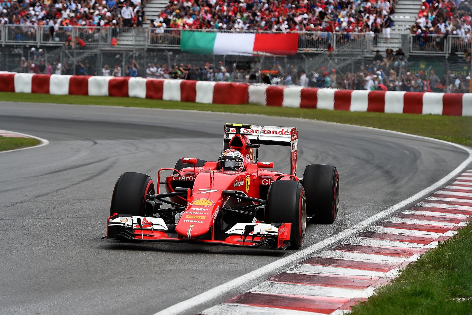 Räikkönen wurde in Kanada Vierter. Copyright: Ferrari