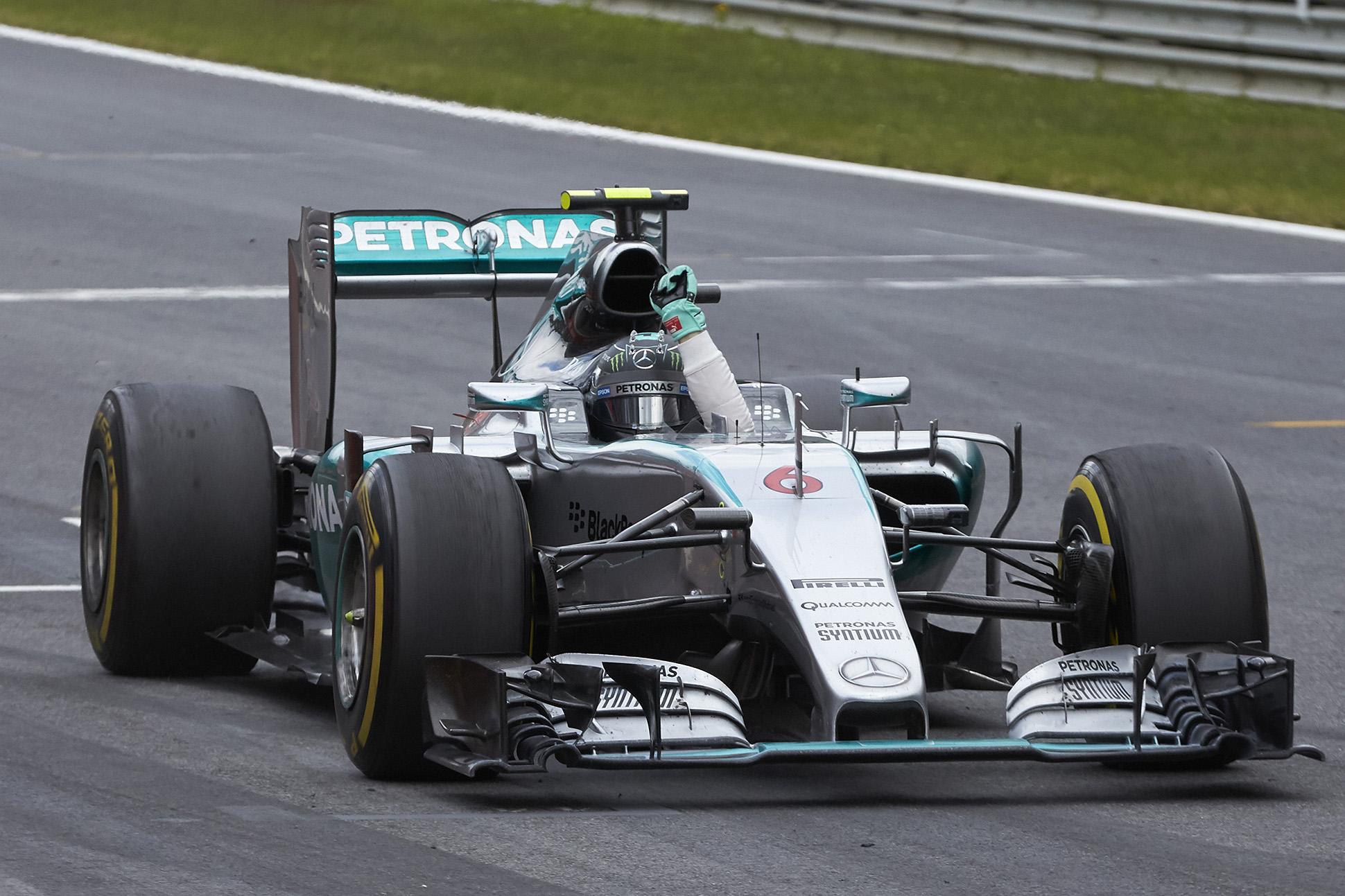 Mercedes-Pilot Nico Rosberg siegt in Spielberg. Copyright: Mercedes