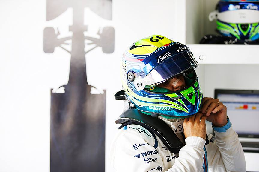 Williams-Pilot Felipe Massa. Copyright: Williams