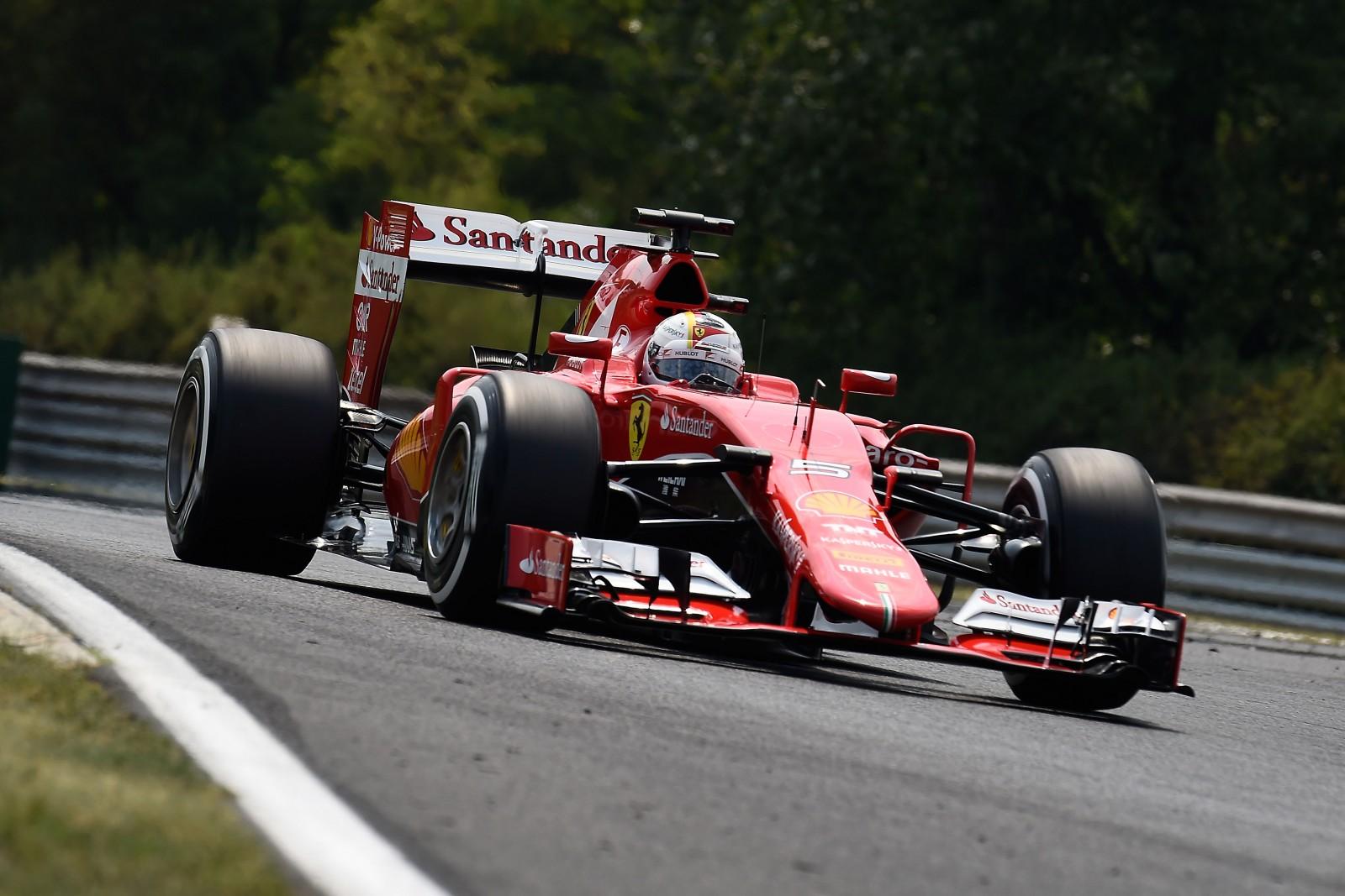 Vettel siegt in Ungarn. Copyright: Ferrari