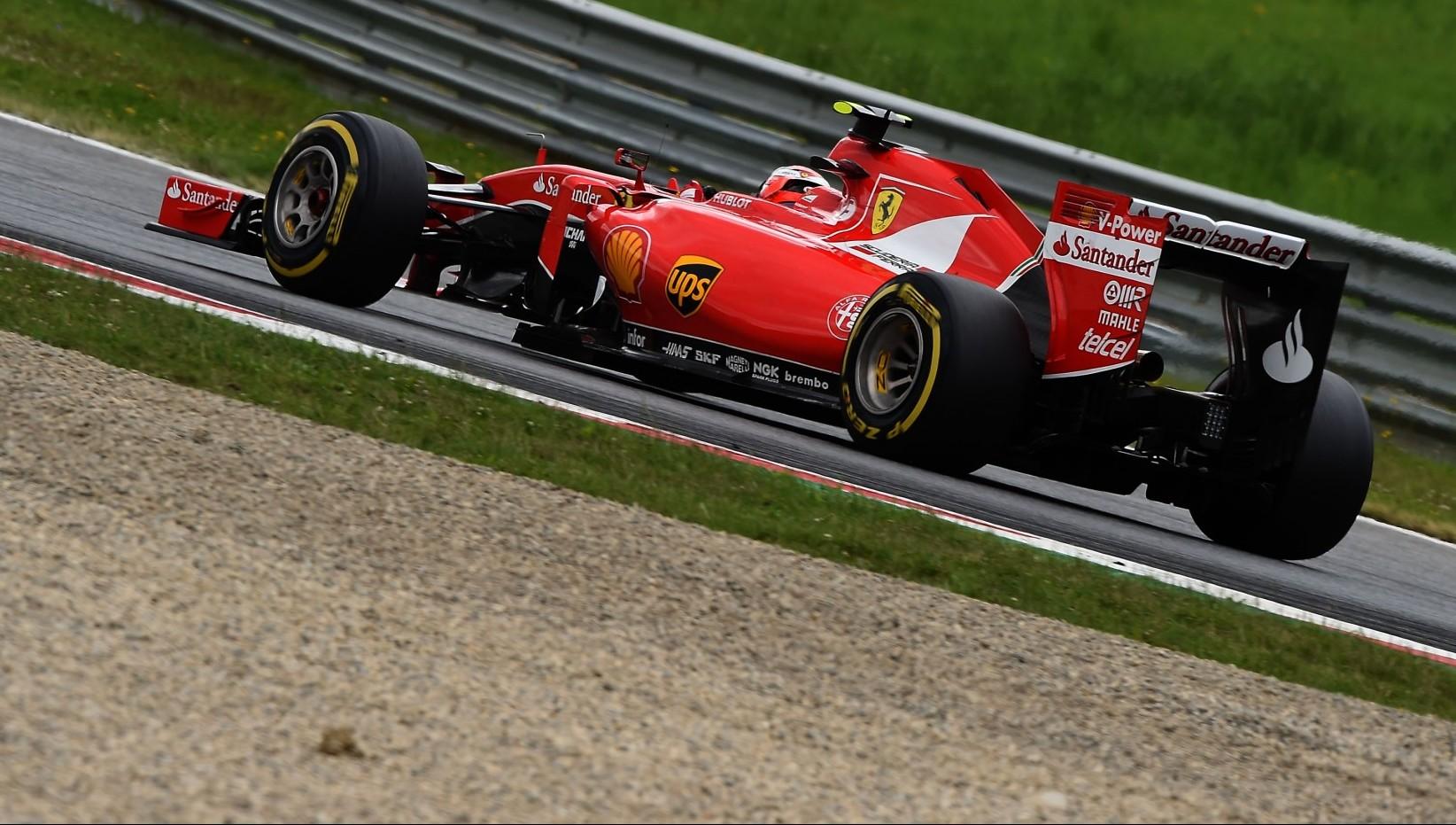Kimi Räikkönens Ferrari