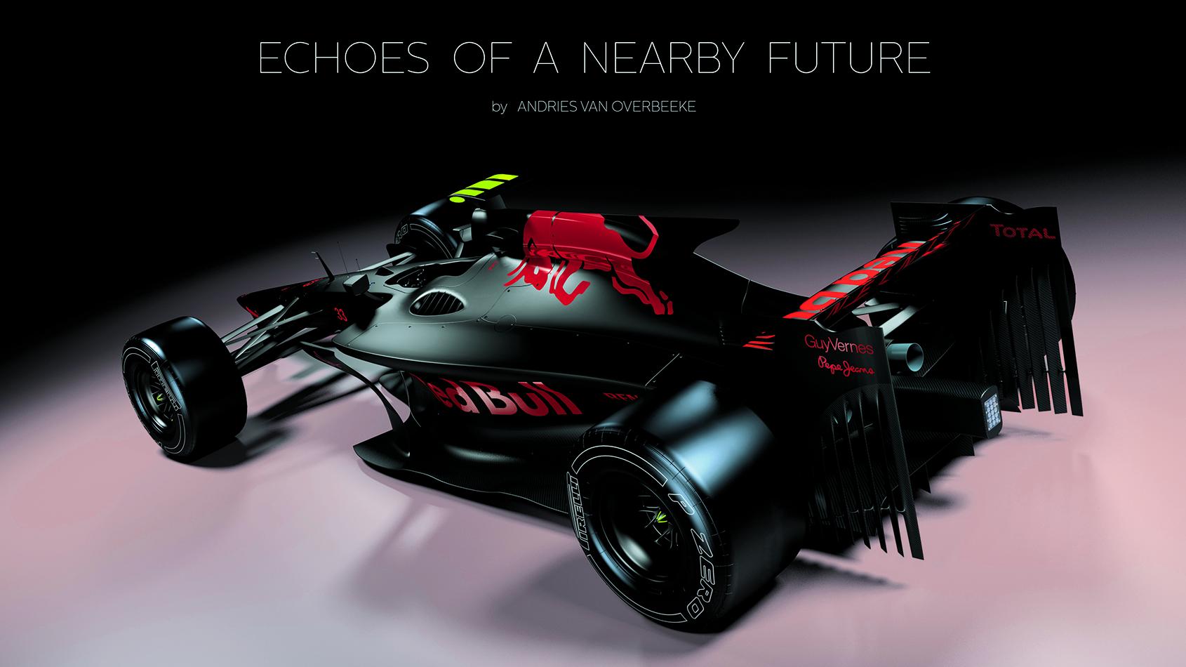 F1 Zukunft Grafik. Copyright: Andries van Overbeeke