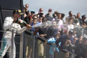 Hamilton siegt in Silverstone. Copyright: Mercedes