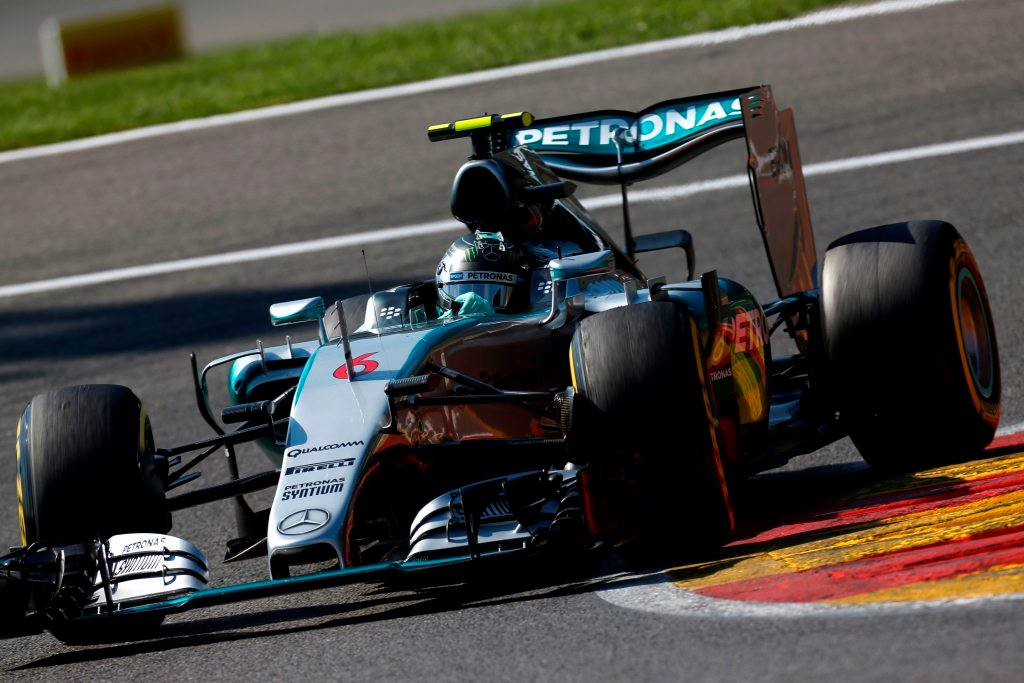 Nico Rosberg in Spa. Copyright: Mercedes
