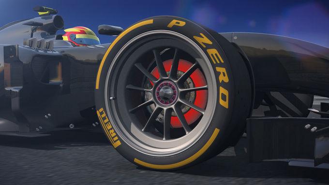Pirelli 18 Zoll Formel 1 Reifen