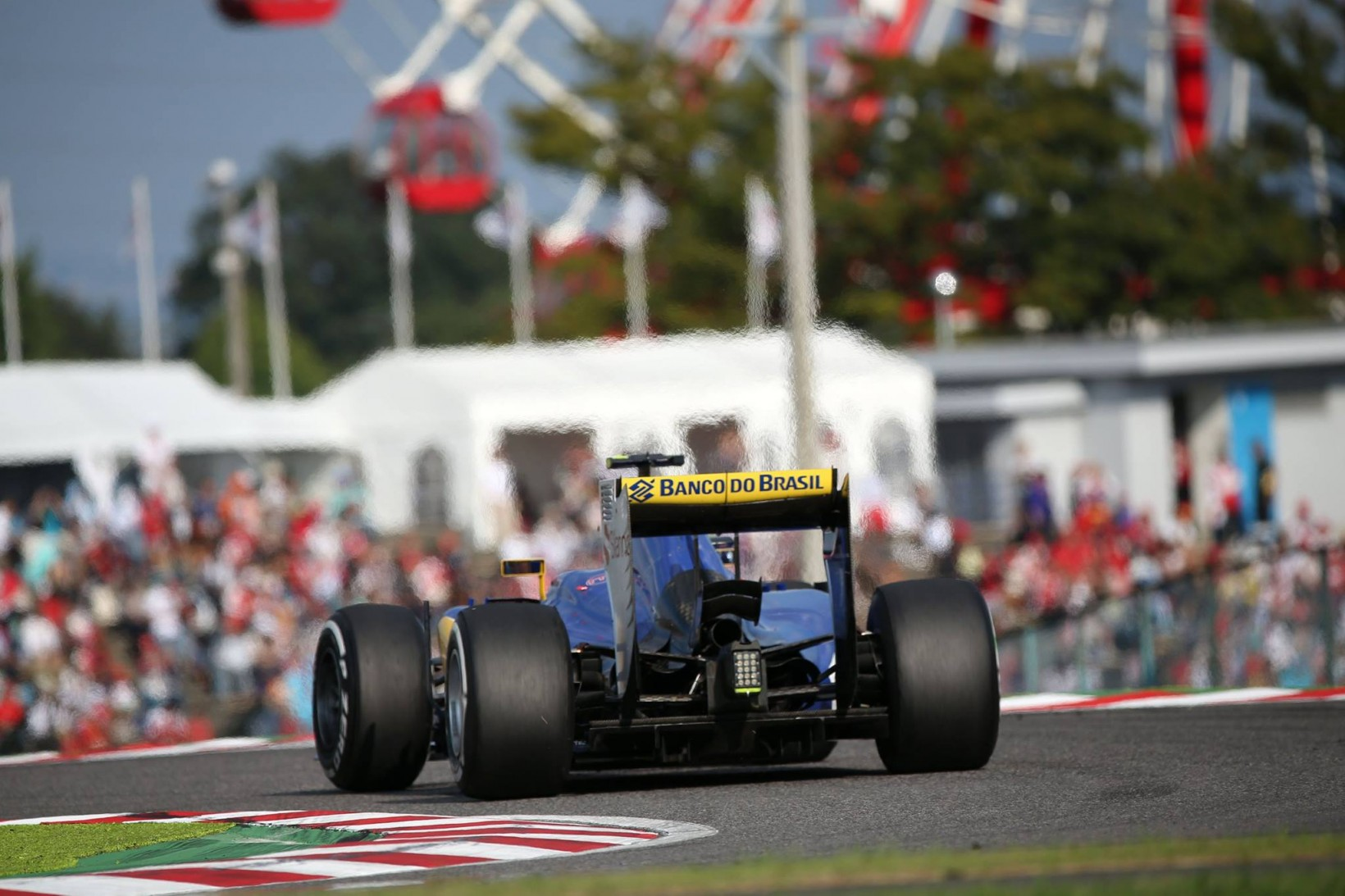 Sauber in Suzuka. Copyright: Sauber