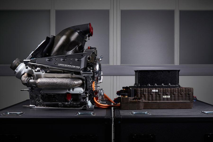 Mercedes Formel 1 Motor Credit: Mercedes