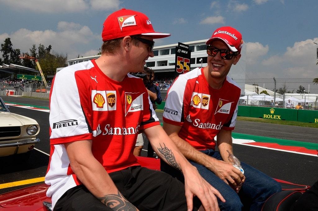 Räikkönen und Vettel