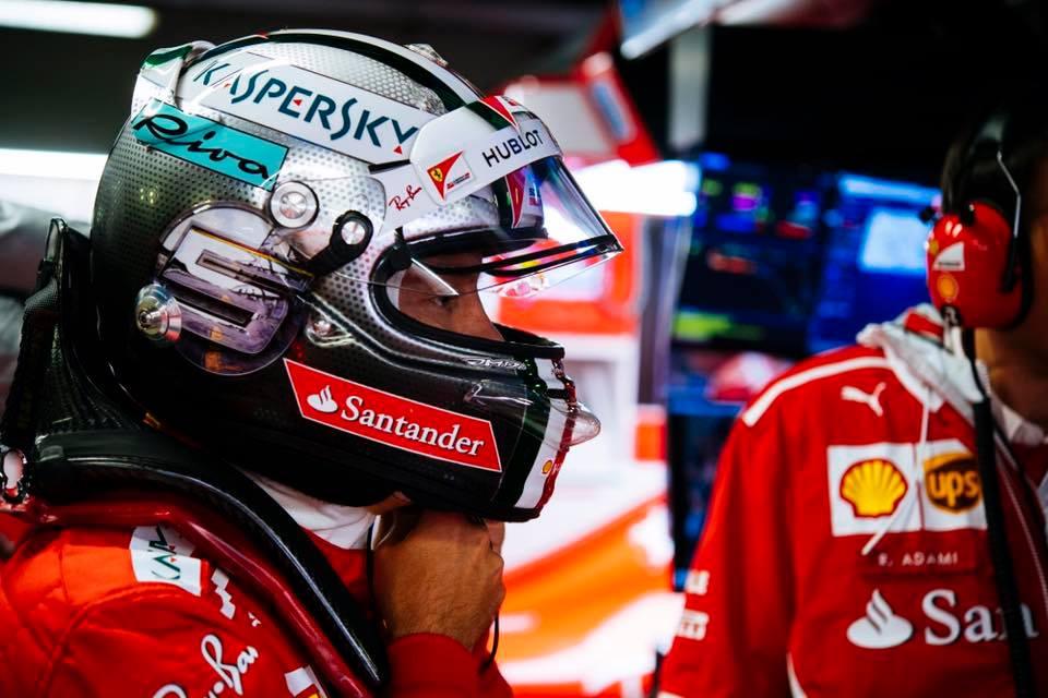 Sebastian Vettel Familienvater