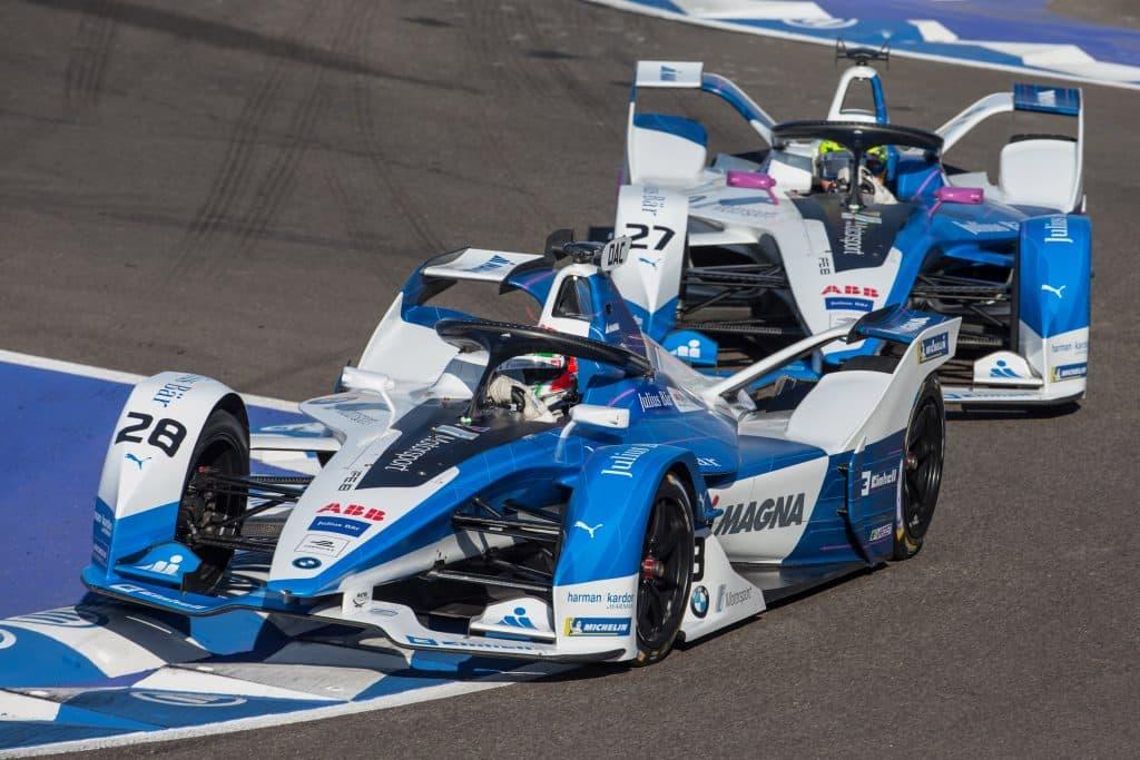 BMW beim Formel-E-Rennen in Marrakesh
