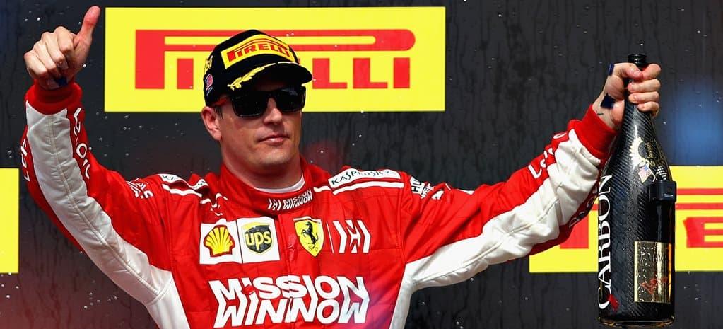 Kimi Räikkönen, Ferrari, Formel 1