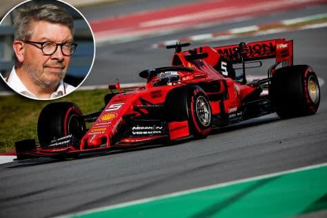 Ross Brawn Ferrari and Vettel 2019